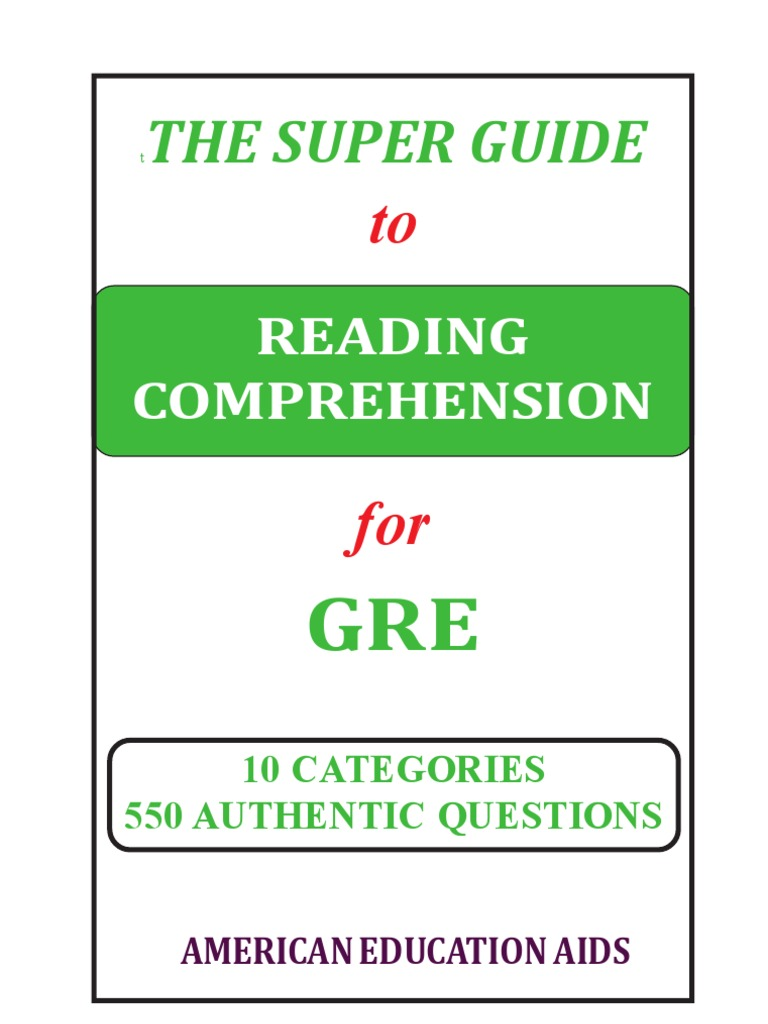 The Super Guide: Reading Comprehension