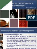 IHRM - Performance Management