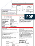 Honeywell Acu Quick Install Guide