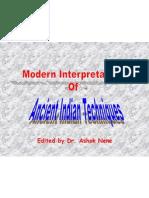 Modern Interpretations of Ancient Indian Techniques