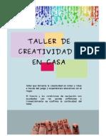 Dossier Creatividad en Casa (IE)