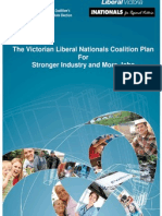 Coalition Plan for a Stronger Industry and More Jobs