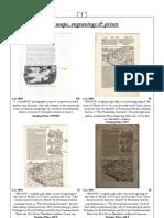 Old Maps Engravings Snd Prints