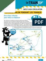 flyer circulation quartier Vallières Besançon Avanne Septembre 2012