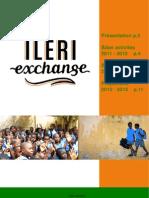 Bilans 2011-2012, Plaquette Ileri Exchange 2012-2013 PDF