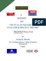 Sachin Dhande Mutual Fund Report
