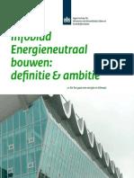 Infoblad Energieneutraal Bouwen Definitie en Ambitie - Def 8juni2012
