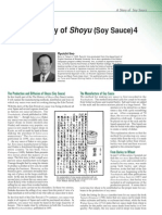The History of Soy Sauce