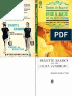 Simone de Beauvoir Brigitte Bardot and the Lolita Syndrome 1959