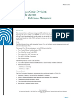 CISCO CDMA Performance Management