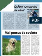 comunicare canina