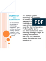 BIOENERGY FOR RURAL AREAS - Perspective
