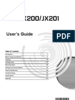 JX210P-Fax User Manual