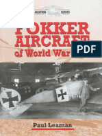 Leaman P. Fokker Aircraft of World War One