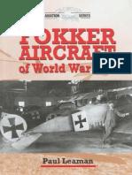 Leaman P. Fokker Aircraft of World War One