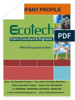 Environment Clearance-Ecotech Profile