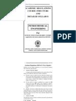 Syllabus R10 Petrochemical Engineering