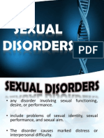 Sexual Disorders -Group 5
