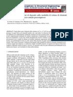 Influenza Dei Fenomeni Di Corrosione Sulla Modalita' Di Rottura Di Elementi Strutturali in Calcestruzzo Armato Precompresso
