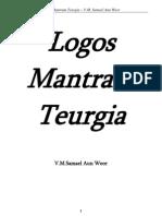 1959 Logos Mantram Teurgia - Samael Aun Weor
