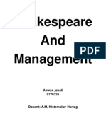 Shakespeare and Management