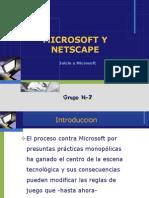 Microsoft y Netscape