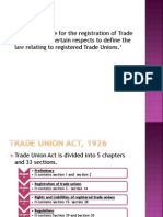 Trade Union Act 1926 Em Rao (1)