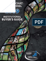 Catalogue Institutionnel - Institutional Buyer's Guide 2009
