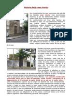 Historia de La Casa Chorizo PDF