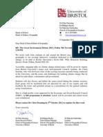 Invite Letter Great Env Debate 2012