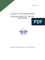 Doc 8643 OACI Designadores de Aeronaves OACI