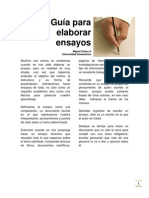 Guía para elaborar ensayos Miguel Cobos