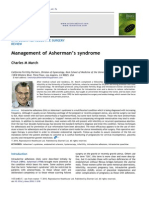Management of Asherman's Syndrome