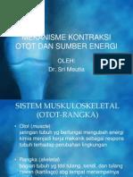 K.P 6.15 Mekanisme Kontraksi Otot & Sumber Energi