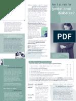 Gest Diabetes Risk 2005