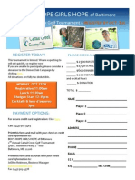 Cattail 2012 Registration