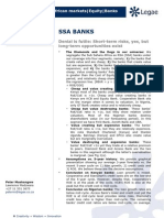 SSA Banks _Denial is Futile_Short Term Risks but Long-term Opportunities