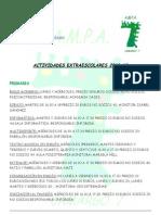 Info Extraescolares 2012 2013