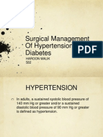 Surgical Managment of Dm