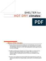 Lec 13-Shelter for Hot Dry All