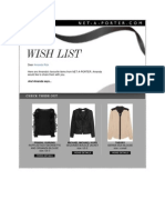 Amanda Rizk's Wish List