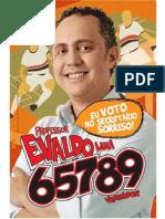 Panfleto Ferroviário Professor Evaldo Lima 65789