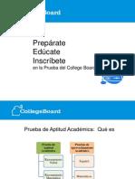 Informacíon College Board