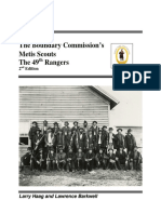 Boundary Commission's Metis Scouts: The 49th Rangers
