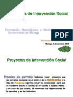Proyectos de Intervencion Social