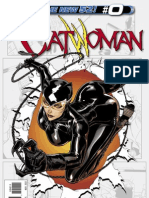Catwoman Zero Issue Exclusive Preview