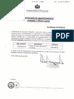 Certificado de Sorgo de Exportacion