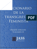 Diccionario de la transgresión feminista 2012