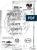 US Nuclear Targeting Policy Review (1978)