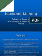 International Marketing I